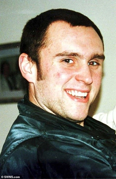Noye stabbed Stephen Cameron (above), 21, to death on the M25 slip road in 1996 and was jailed for murder in 2000