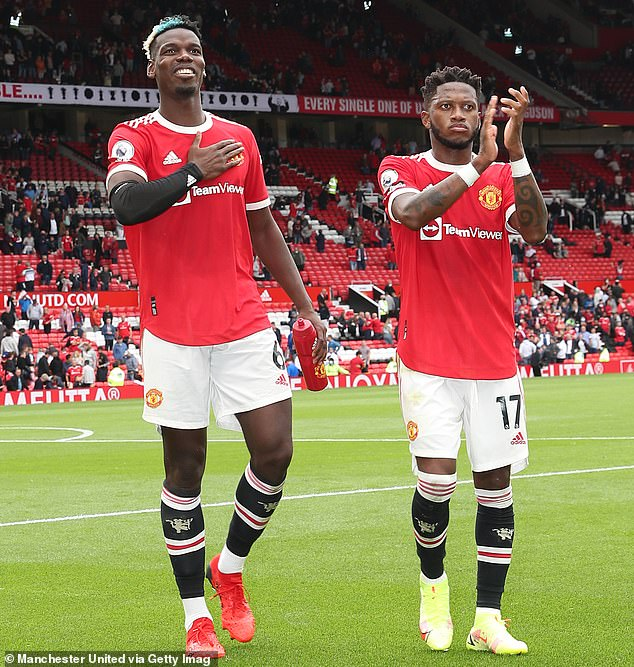 Paul Pogba (left) is facing the most crucial decision of his career at Manchester United
