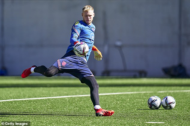 Ramsdale's excellent Arsenal form has earned him a call-up into the England squad