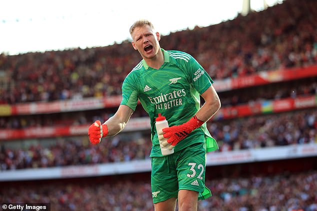 Aaron Ramsdale has burst onto the scene at Arsenal following his £30million summer move