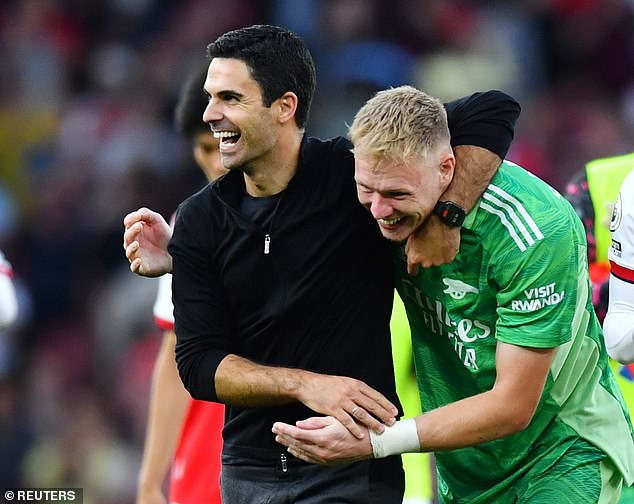 Mikel Arteta has been delighted with the displays of his summer arrival from Sheffield United