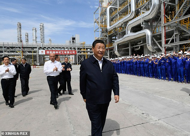 Xi Jinping is due to commit China to lowering its carbon footprint at the COP26 conference next month, but will no come under pressure to abandon the pledges