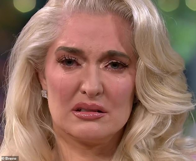 'I can't control what Tom Girardi did': Erika Jayne cried while being GRILLED by Andy Cohen in an explosive teaser for RHOBH reunion which was released on Wednesday
