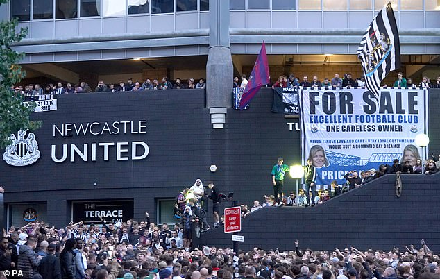 Newcastle fans argue they are absolutely desperate for a new set of ambitious owners