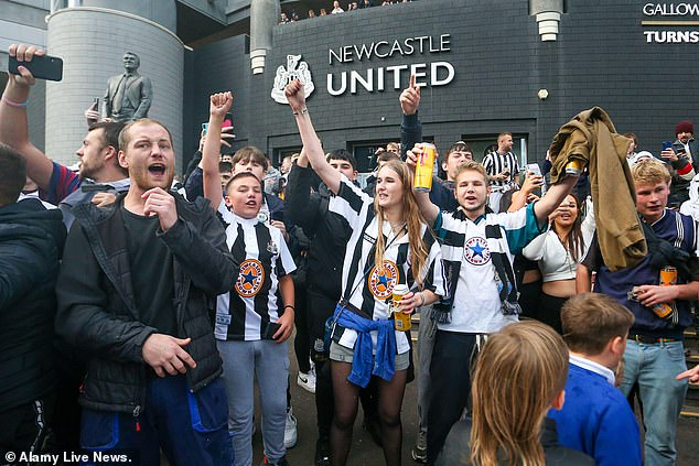 Newcastle fans are now looking forward to a possible improvement on the pitch at this time