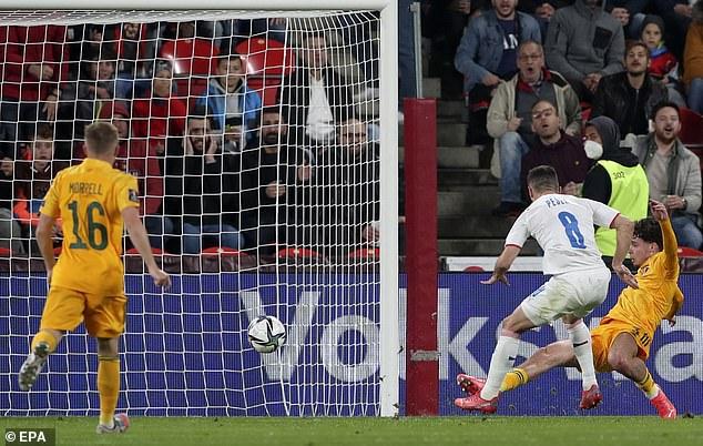Wales' lead lasted just two minutes as midfielder Jakub Plesek fired home on the rebound