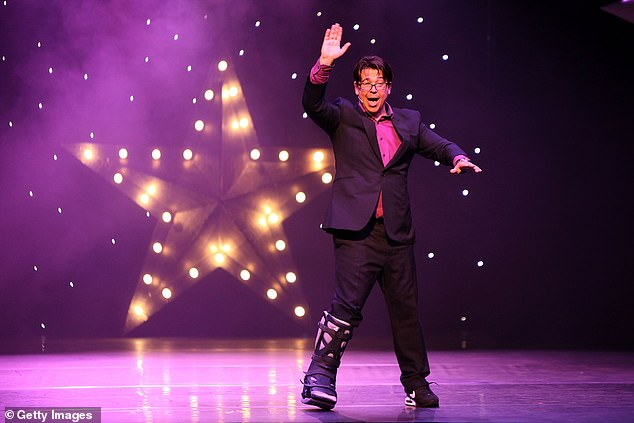I was wearing this to the meeting my agent Addison Cresswell and I were having with Elaine Bedell, Head of Entertainment at the BBC. Pictured:Michael McIntyre at charity gala in 2017