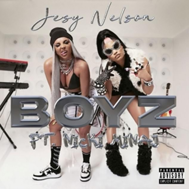 Out now: Jesy has finally released her debut solo single