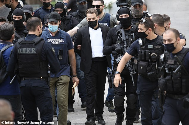 Anagnostopoulos, 33, finally confessed weeks later after police confronted him with evidence proving he was the killer