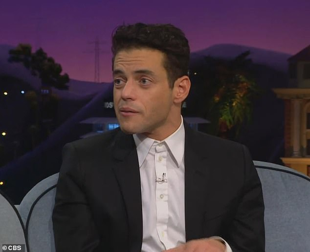 Revelation: Rami Malek, 40, revealed he used to slip photo headshots into pizza orders when he worked as a delivery man before he became famous in Hollywood