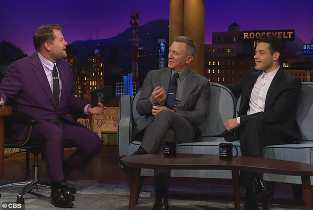 Malek explained that actors need a hustle to make it in Hollywood during an appearance with No Time To Die co-star Daniel Craig on The Late Late Show With James Corden on Thursday