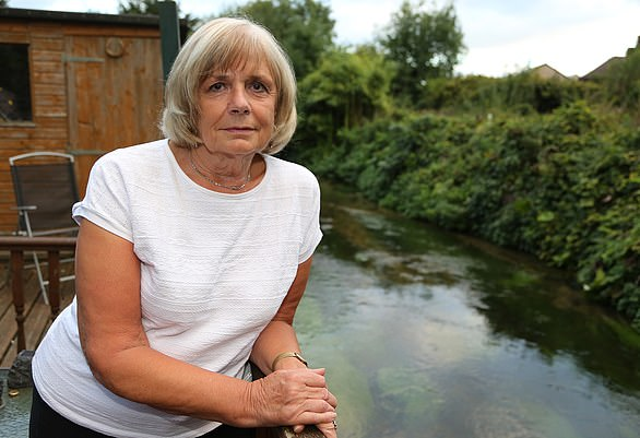 Grandmother Sue Dennigan says she is lucky to be alive after collapsing with a twisted bowel