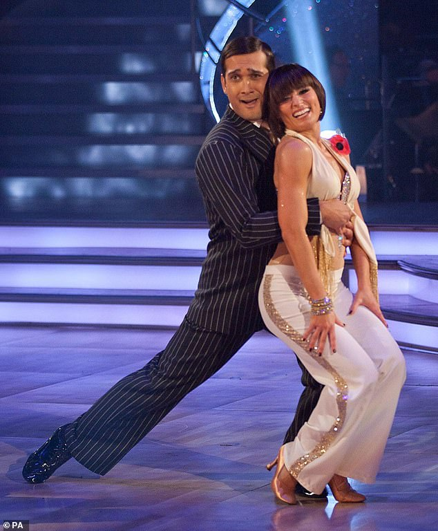 They might not have reached the Strictly finals in 2010, but Flavia Cacace and Jimi Mistry did end up as a couple, waltzing off in real life.