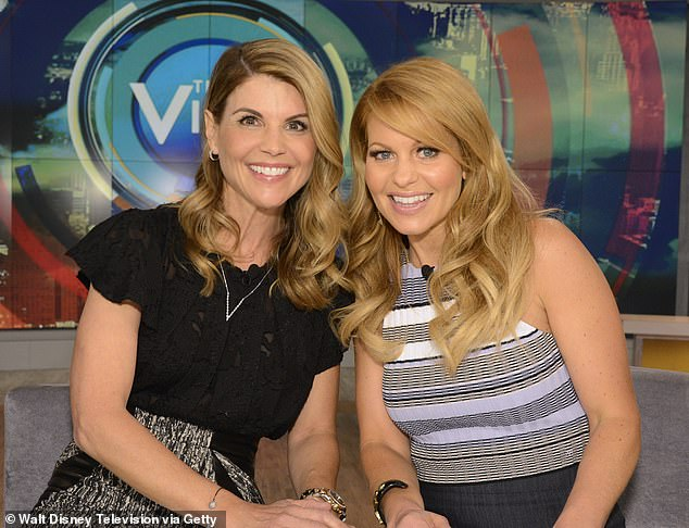A pattern: According to the publication, Bure has been touting her anti-science beliefs since at least 2015, when she saluted her children's schools for not enforcing vaccination requirements; seen in 2016 with her Full House costar Lori Loughlin