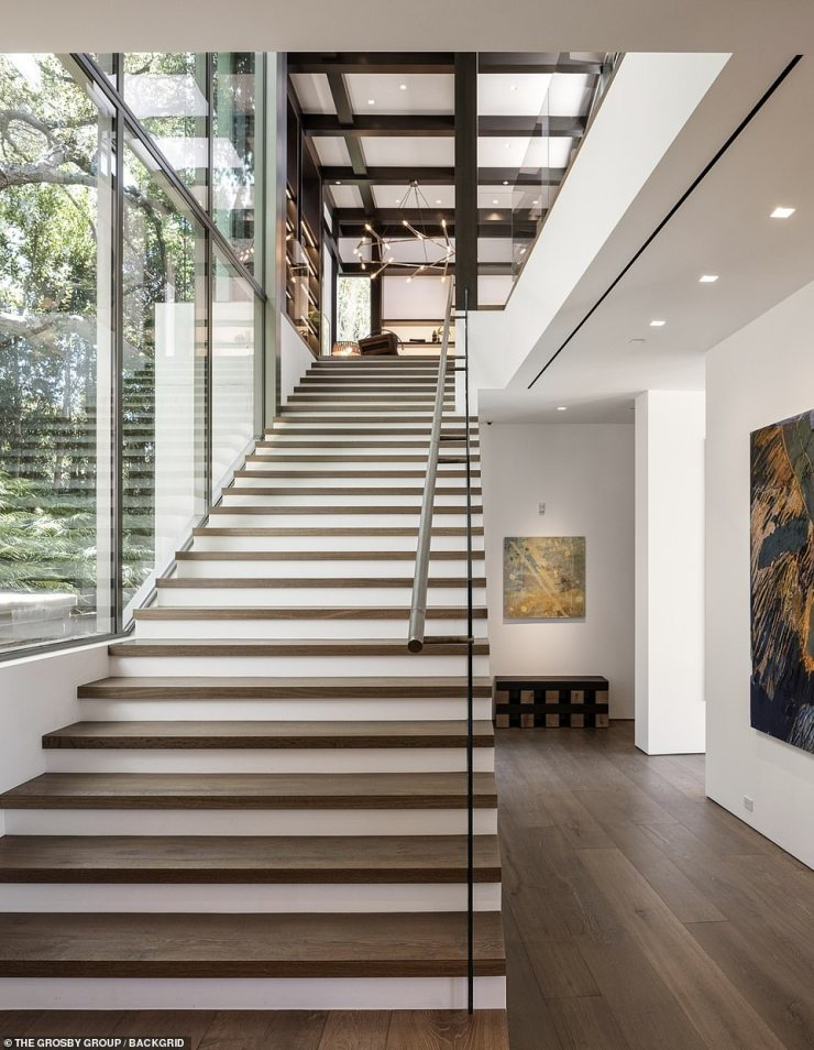 'Architects have a hard time designing for themselves,' Rios told Architectural Digest in 2017 of Noah's property. 'I went through over 50 plans before we settled on one'