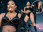 Megan Thee Stallion commands the stage during raunchy ACL Festival performance