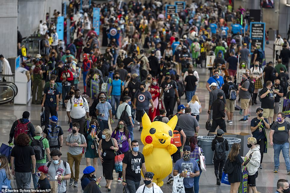 , Costumes galore as New York Comic Con returns to Manhattan after a COVID-induced hiatus, The Today News USA