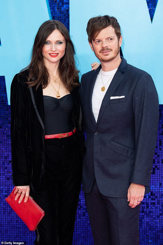 Repairing the marriage:Sophie revealed how Richard 'began seeing a counsellor' after she had 'been in the show a month or so' and that 'it really helped'. Pictured together in September