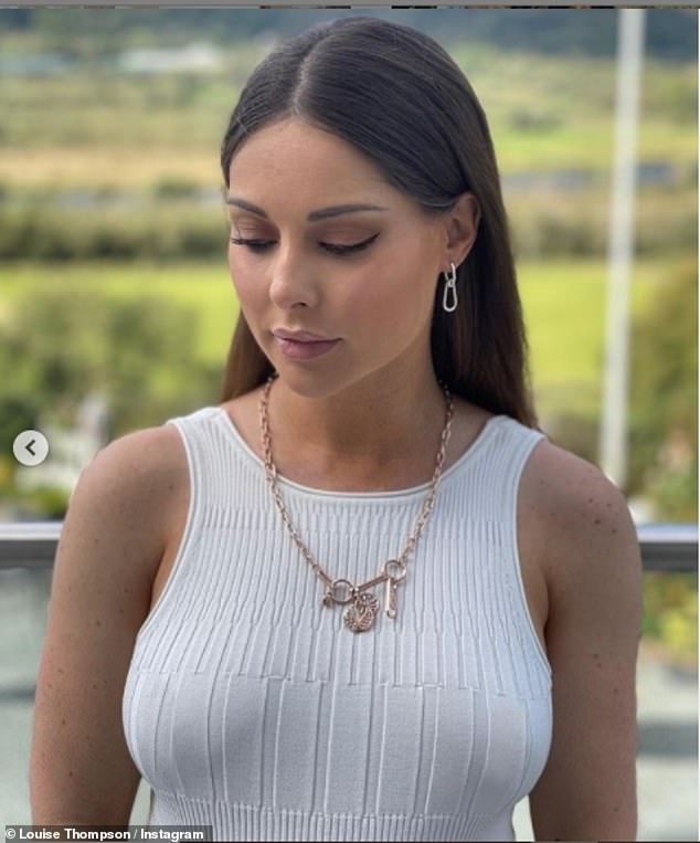 'If the fire engines arrived 5 minutes later, things would have been different': Louise Thompson was left in shock after being involved in a bad house fire