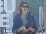 Kaia Gerber heads to cafe with brother Presley and his model girlfriendSydney Brooke in Malibu