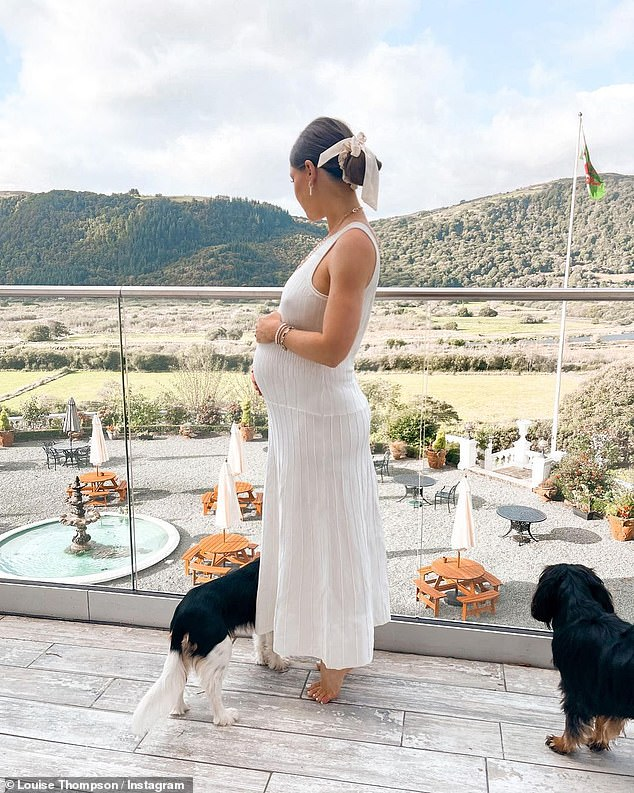 , Pregnant Louise Thompson in shock after blaze tears through house in the middle of the night, The Habari News New York