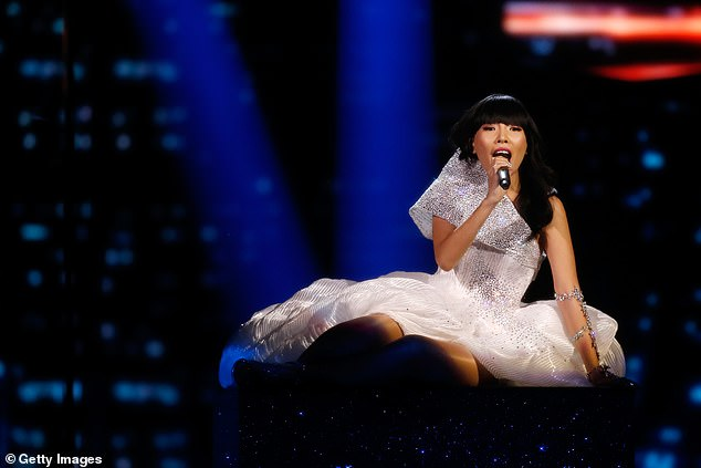 Huge achievement: Dami competed in Eurovision Song Contest 2016 and performed the song 'Sound of Silence' at the Ericsson Globe in Stockholm, Sweden.She placed second in the competition and achieved the highest Song Contest score for Australia