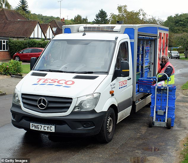 Tesco's Whosh online platform delivers groceries from its Express stores in less than an hour