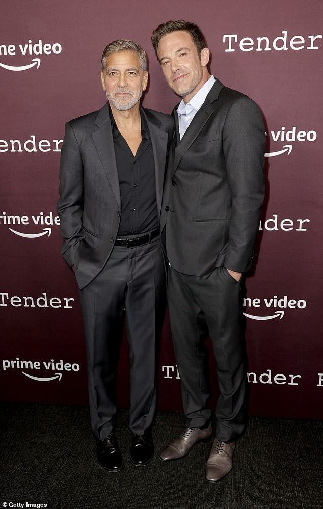 , George Clooney cosies up to his wife Amal at The Tender Bar photocall at the London Film Festival, The Today News USA