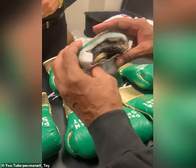 The cause of the injury is unknown, although Wilder opted to use gloves with thinner padding after taking issue with Fury using gloves with horse hair before the fight