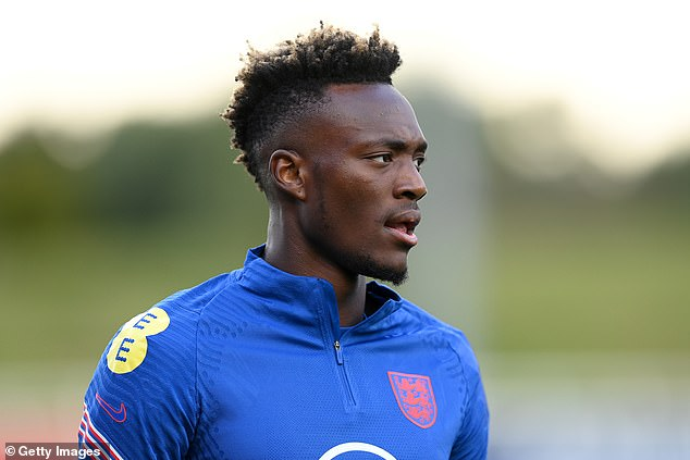 Tammy Abraham revealed he has been vaccinated but Phil Foden, Fikayo Tomori and Jesse Lingard refused to comment when asked if they have taken the jab