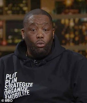 Killer Mike said Democrats 'need to bring something home' with the spending bills