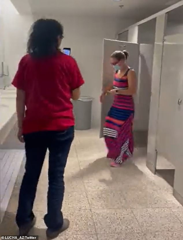Kyrsten Sinema was followed into a bathroom and hounded by progressive activists at Arizona State University