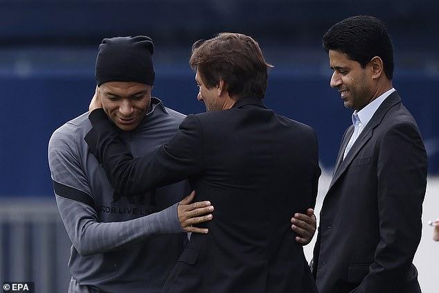 Leonardo confident that Kylian Mbappe will stay at Paris Saint-Germain next season