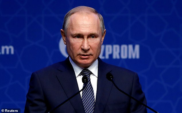 Qatar entered into a pact with Russia to help them secure the 2018 World Cup (pictured: Vladimir Putin)