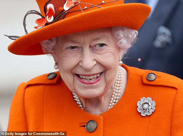 They also meet the Queen (pictured), Vladimir Putin and Nelson Mandela during his tenure