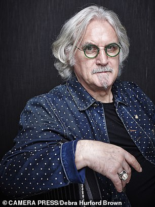 Billy Connolly:My dream was to earn a good living by playing my banjo and making people laugh