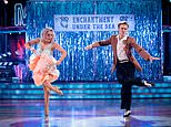Tom Fletcher and partner Amy Dowden RETURN to the dance floor