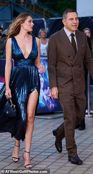 They appeared at the premiere alongside the likes of Matt Smith, Synnove Karlsen, director Edgar Wright, Bridgerton heart-throb Jene-Jean Page and Hollyoaks star Kassius Nelson