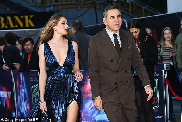 The pair's appearance at the premiere for the Last Night in Soho comes after Keeley shared a post for David's 50th birthday in August - seemingly confirming their relationship was platonic