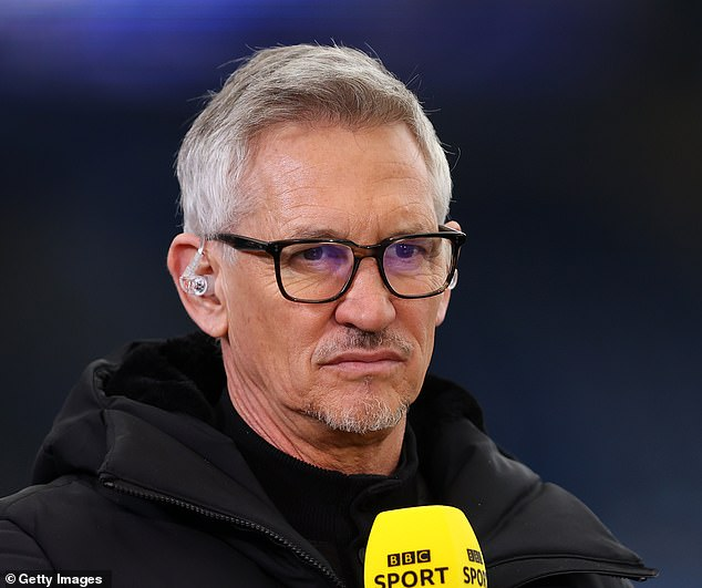 BBC presenter Gary Lineker has a £1.9 million-a-year contract that includes hosting games from World Cup tournaments