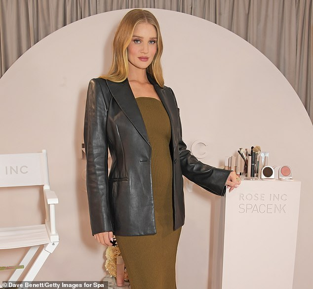 Most supermodels dread the thought of getting older, but Rosie Huntington-Whiteley admits she can't wait to hit 40 – because she'll be able to put her feet up at last