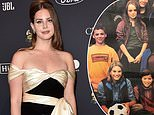 Lana Del Rey shares a 90s throwback with Lindsay Lohan of them modeling for Abercrombie