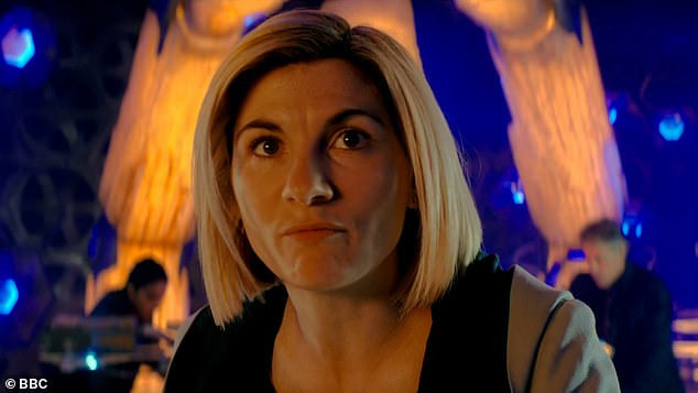 Mystery: The title of the new series was revealed as Doctor Who: Flux, while the trailer featured Jodie Whitaker warning viewers to prepare for the 'fight for our lives'.