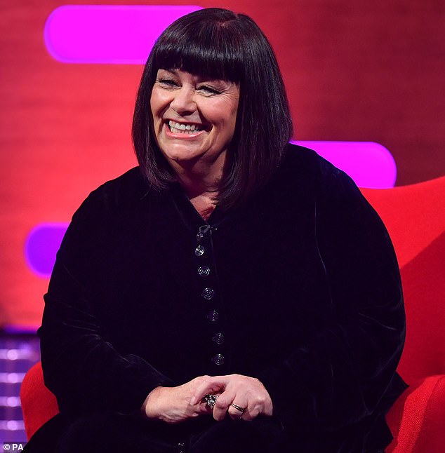 Dawn French has revealed she was so upset with an unauthorised biography of her that she paid fans £20 each to hand over the book