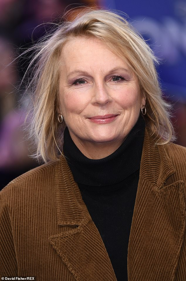 The Vicar Of Dibley star – who did not name the book's author – said she took drastic action to get the books out of circulation while on tour with her comedy partner Jennifer Saunders (pictured)