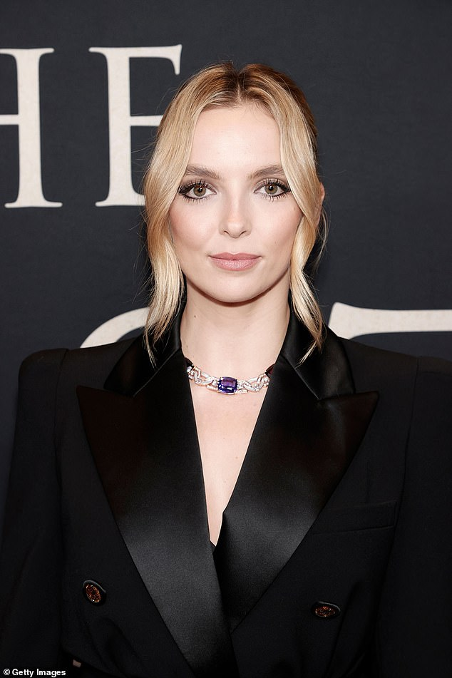 Stunning! Jodie Comer, 28, turned heads as she walked the red carpet at the premiere of The Last Duel in New York City