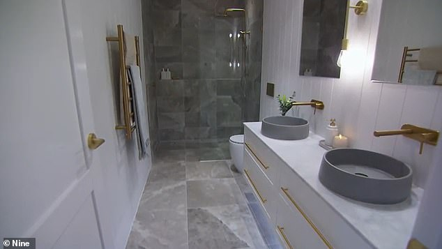 Wow!The judges noted there was 'no sense of panic' in the serene, renovated spaces, which didn't looked rushed even though Kristy and Jesse had less time