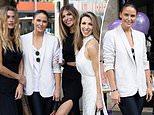 Jodi Gordon stuns alongside Cheyenne Tozzi and Laura Csortan at a beauty range launch in Sydney