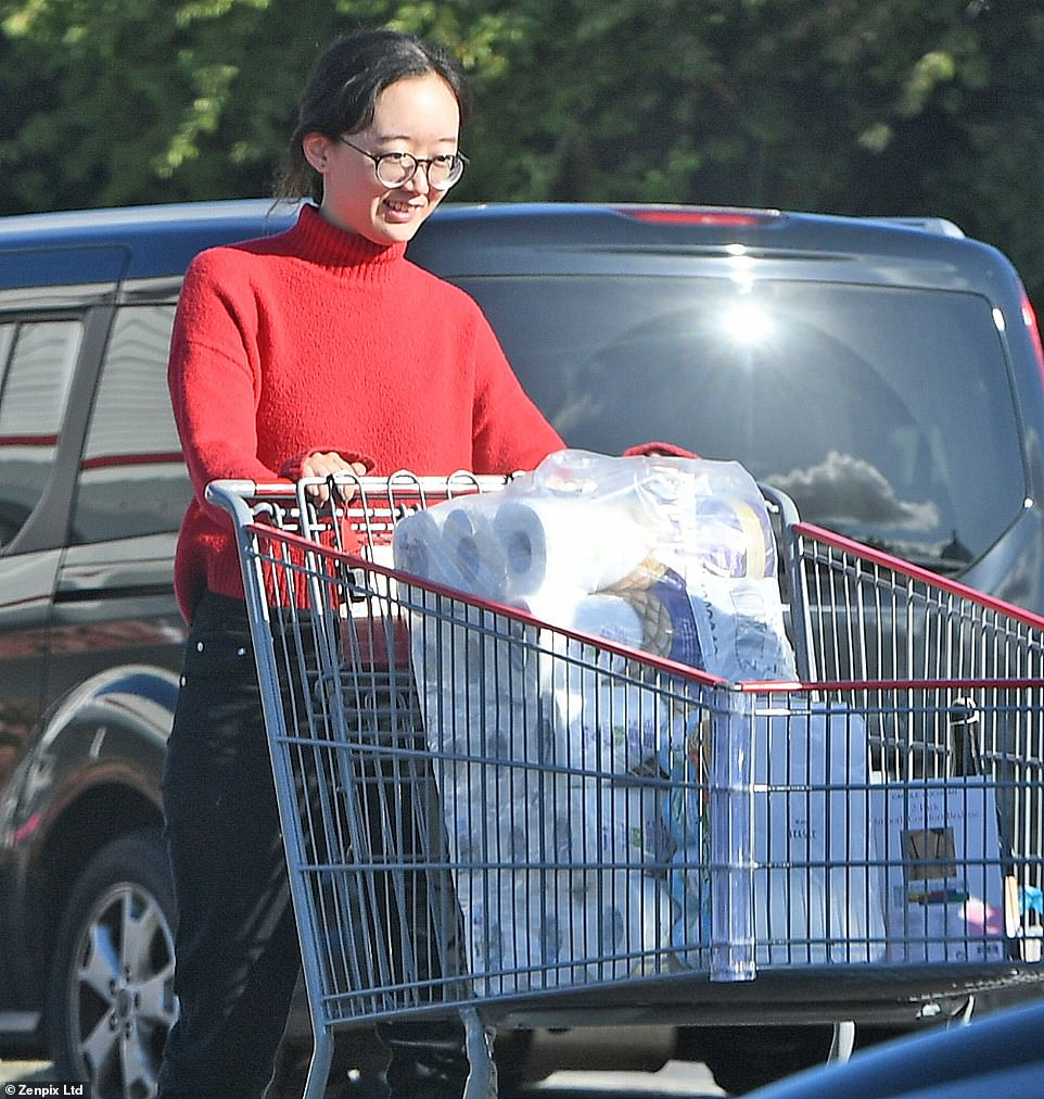 , Panic buying is back! Shoppers queue to fill up trolleys with toilet roll and other essentials, The Today News USA