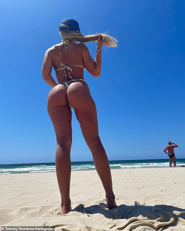 , Tammy Hembrow strips down to a G-string bikini for a sizzling beach photo shoot, The Today News USA